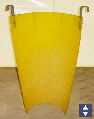 Verschleißeinsatz Länge 1.10m als Prallschutz