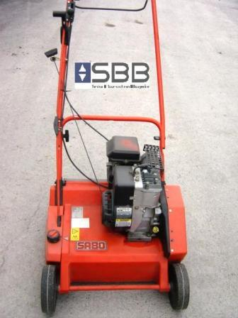 Vertikutierer / Rasenlüfter SABO 38 BV Arbeitsbreite 38cm