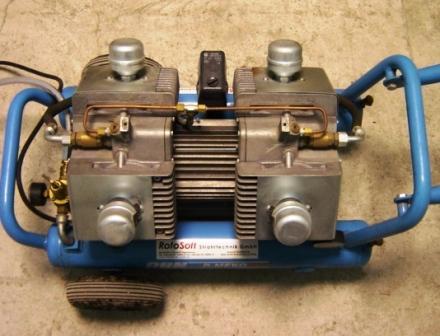 Membranen-Kompressor R-Meko600/10W 600l/min 6bar