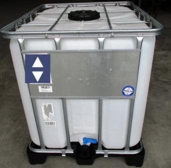 Wassertank 1000 Liter Staplergeeignet