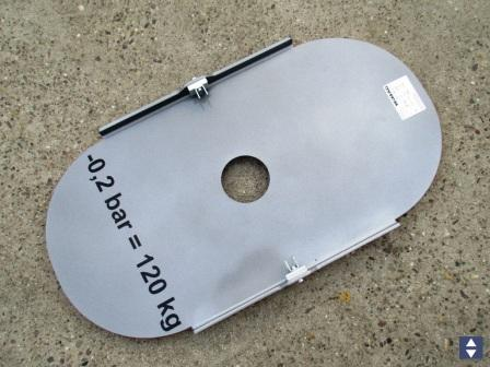 Saugplatte SP120 Tragfähigkeit 120kg