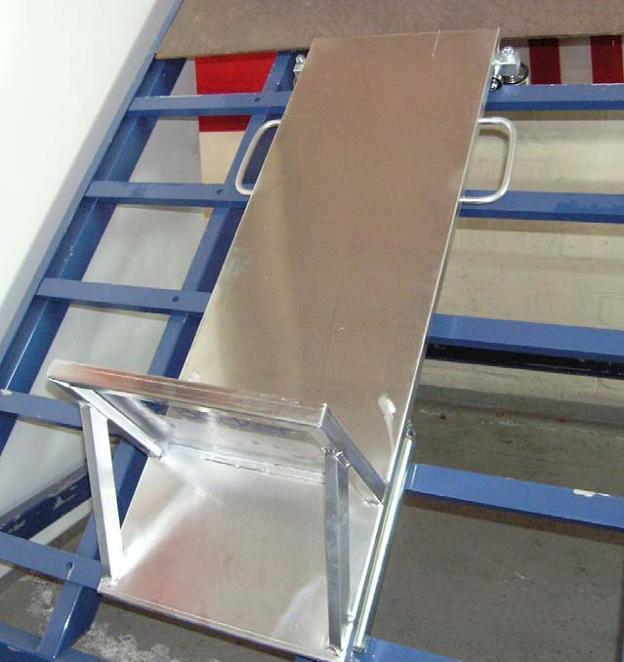 Dachziegelschlitten DZV 200-F Trag.200kg 110cm x 45 cm