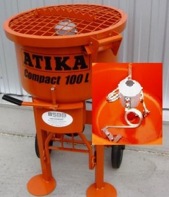 Zwangsmischer Atika Compact 100 Füllm. 100l/60l 230V